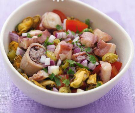 Ceviche mit Meeresfrüchten