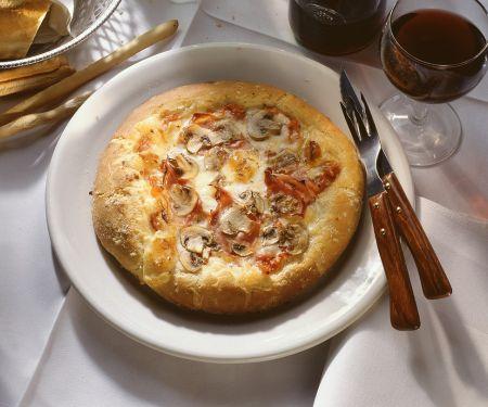 Champignon-Pizza