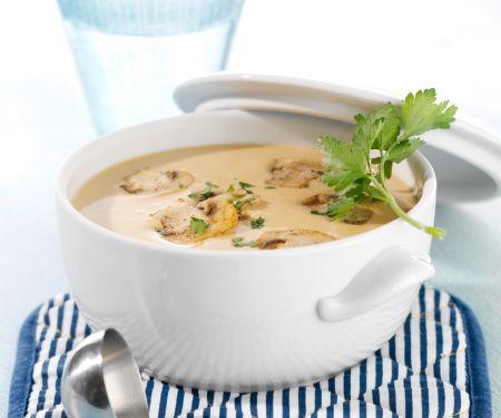 Champignon-Sahne-Suppe