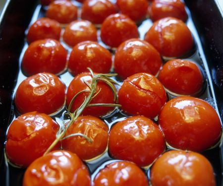 Cherrytomaten in Marinade