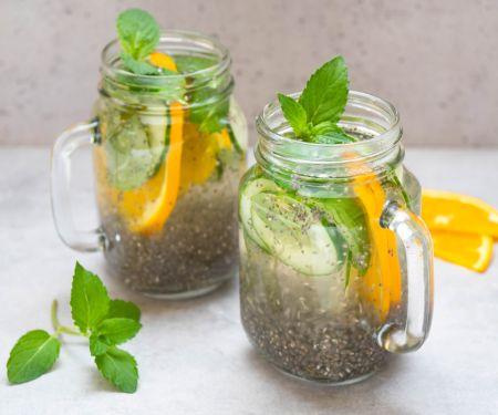 Chia-Detox-Wasser
