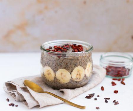 Chia-Mandelmilch-Pudding