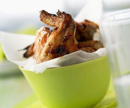 Chicken Wings mit Barbecuemarinade
