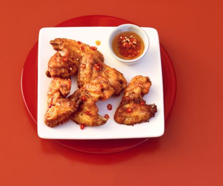 Chickenwings mit Tex-Mex-Sauce