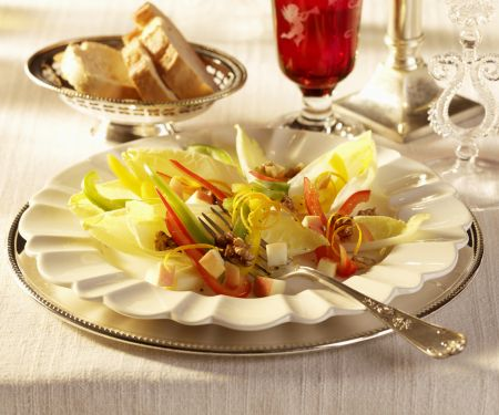 Chicorée-Paprika-Salat