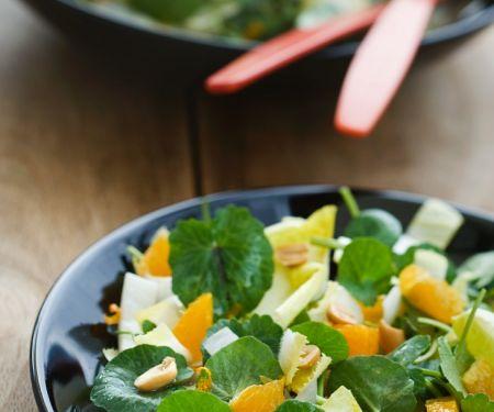 Chicoréesalat mit Feldsalat