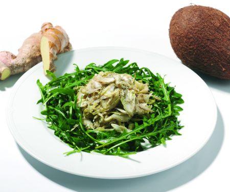 Chicoréesalat mit Rucola