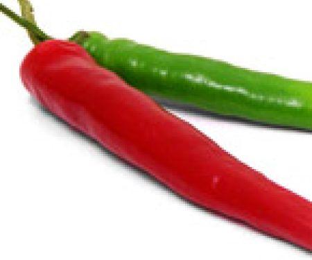 Chilischote kann den Stoffwechsel anregen