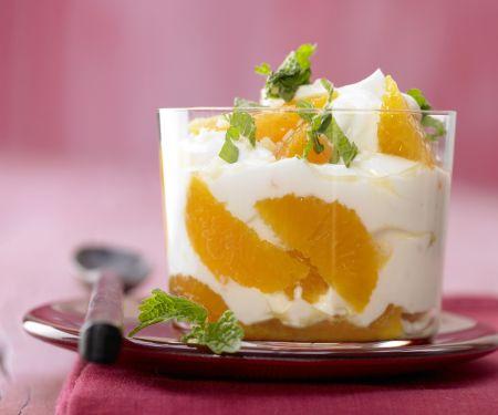 Clementinen-Joghurt