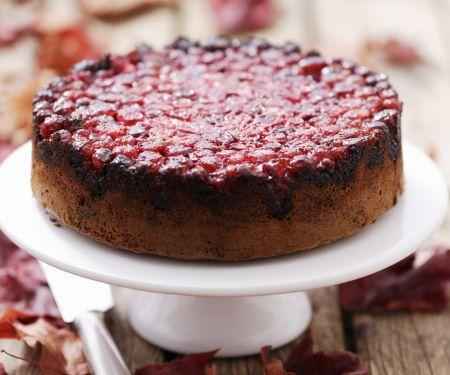 Cranberrykuchen