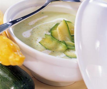 Cremige Zucchinisuppe