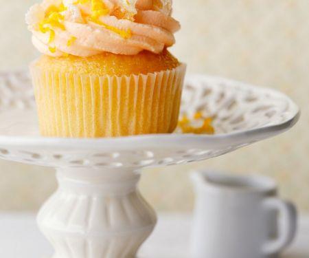 Cupcake mit Orange und Ingwer