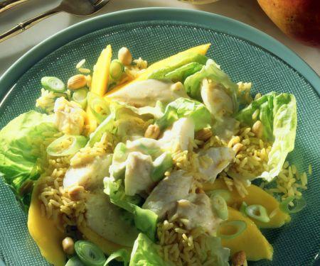 Curry-Fischsalat