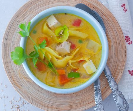 Curry-Gemüsesuppe