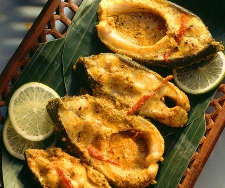 Curry-Karpfen