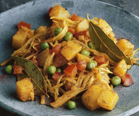 Curry mit Weißkohl