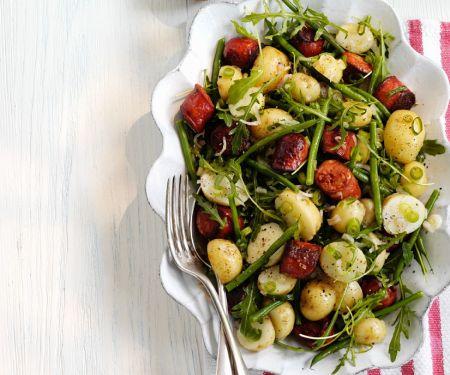 Deftiger Kartoffel-Bohnensalat