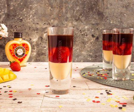 Deutschland Dessert ''Schwarz Rot Gold''