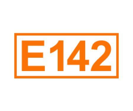E 142 ein Farbstoff
