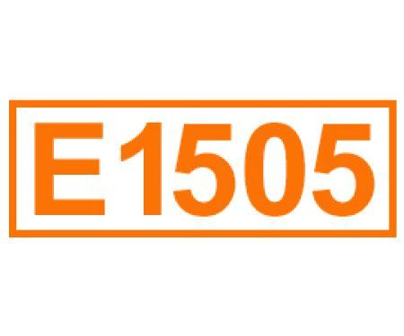 E 1505 ein Lebensmittelträgerstoff