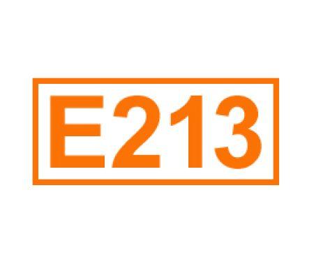 E 213 ein Konservierungsstoff