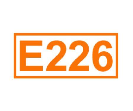 E 226 ein Konservierungsstoff