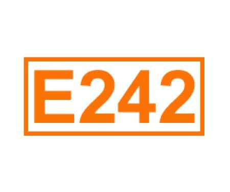 E 242 ein Konservierungsstoff