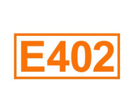 E 402 ein Geliermittel