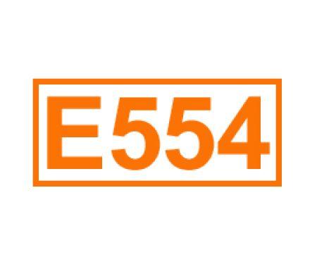 E 554 ein Trennmittel
