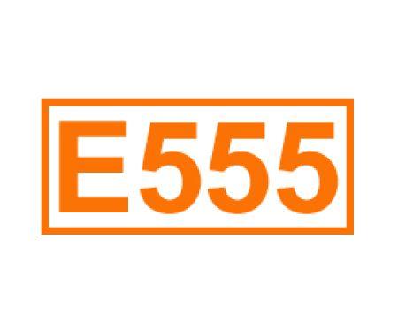 E 555 ein Trennmittel