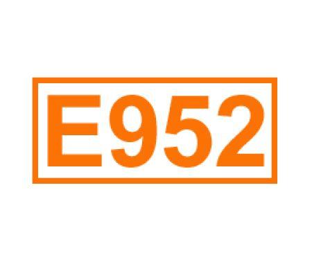 E 952 ein Süßungsmittel