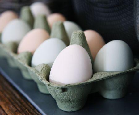 Eier gesund kochen