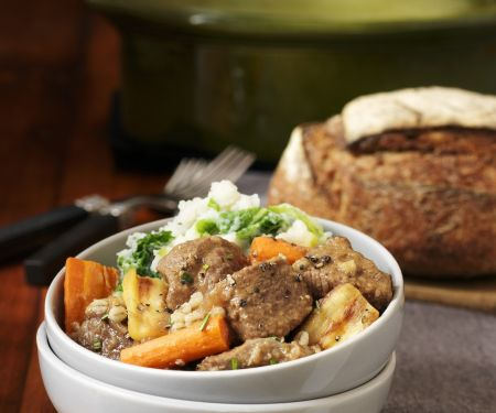 Eintopf mit Lamm nach irischer Art (Irish Stew)