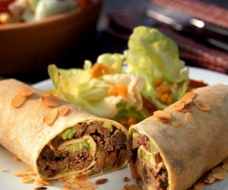 Enchiladas mit Hackfleischfüllung