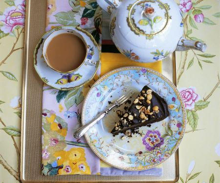 Englischer Schokoladenkuchen