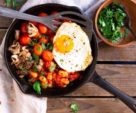 Englisches Frühstück – vegetarisch