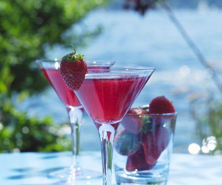 Erdbeer-Bowle