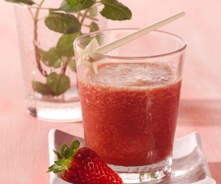 Erdbeer-Gurken-Shake
