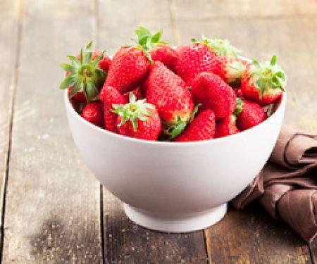 Im Sommer ist Erdbeersaison
