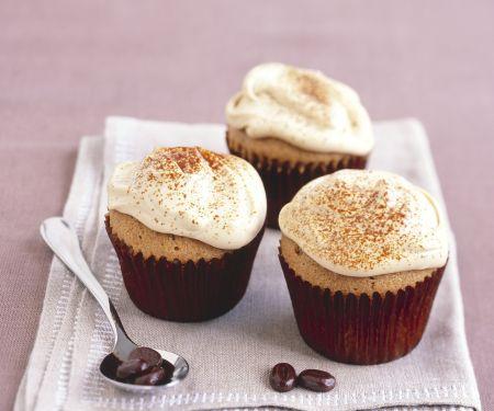 Espressomuffins mit Mascarpone-Topping