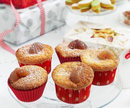 Esskastanien-Muffins