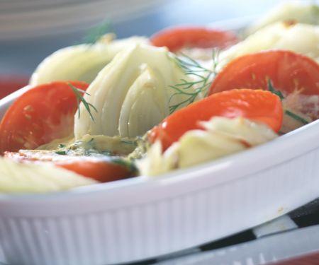 Fenchel-Tomaten-Auflauf