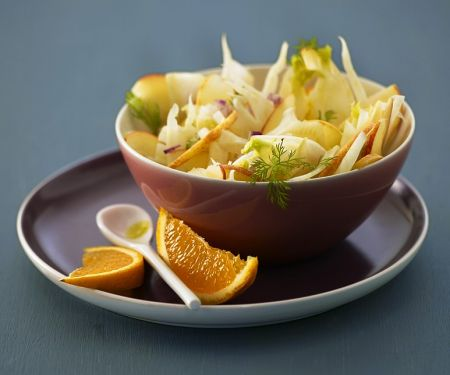 Fenchelsalat mit Apfel