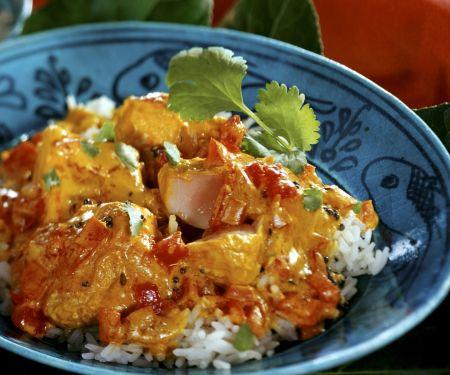 Fischcurry auf indische Art
