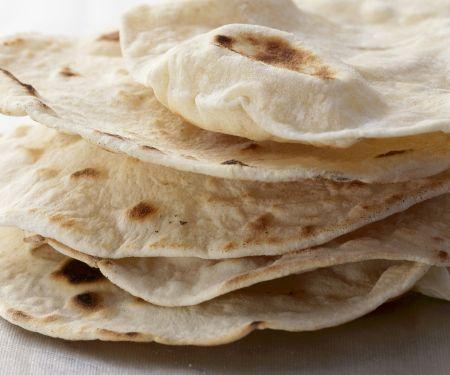 Fladenbrot auf indische Art (Chapati)