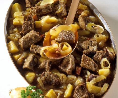 Fleisch-Zwiebel-Eintopf auf Dresdner-Art