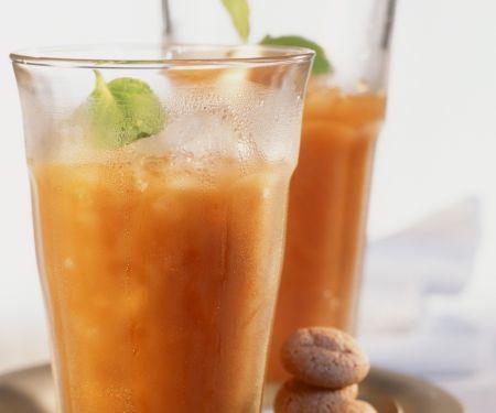 Frappuccino mit Aprikosensaft