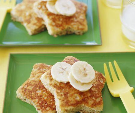 French Toast mit Bananen