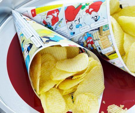 Frittierte Kartoffelchips