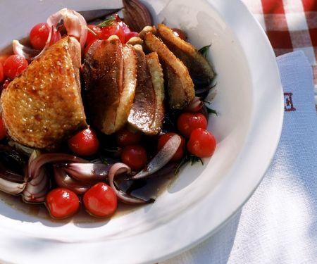 Fruchtige Ente nach französischer Art